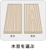 木目を選ぶ